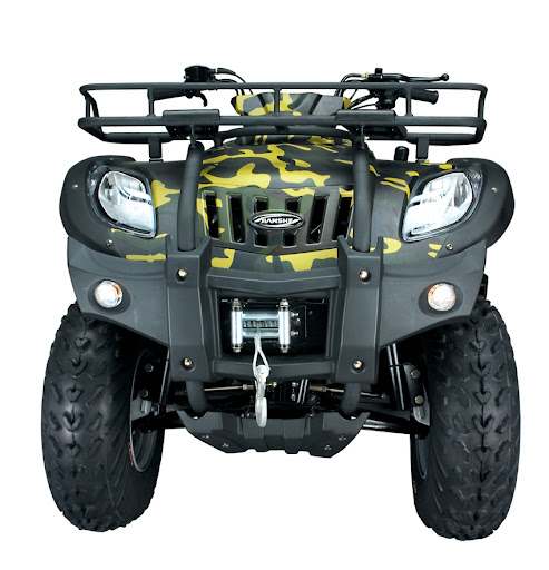 250cc Jianshe JS250 ATV-5 Electric Winch