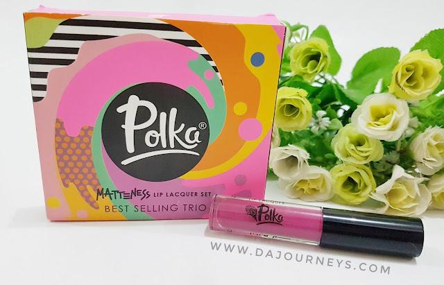 [Review] Polka Matteness Lip Lacquer Shade Tambourine