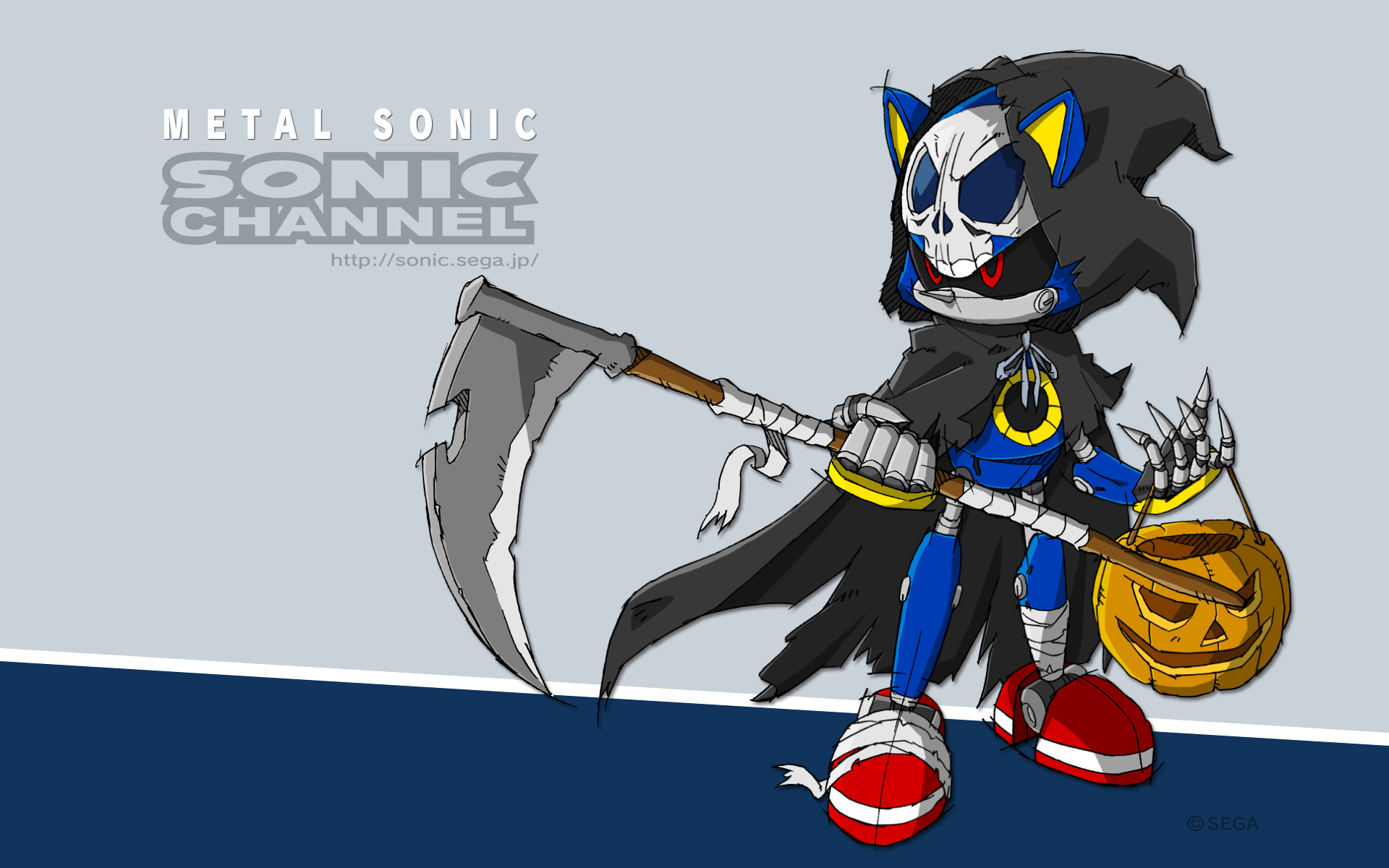 Metal Sonic October 2015 Sonic Channel Wallpaper Sonic