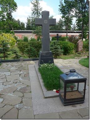 Donskoi tombe de Soljenitsyne
