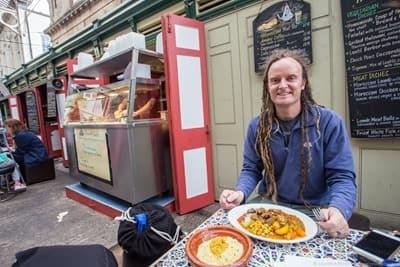 Lunch Bristol St nicholas market