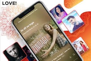 Listen to millions of music- English, Hindi, Tamil, Telugu, Punjabi & more language Song