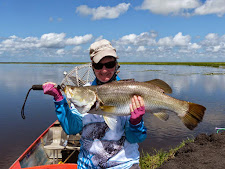 80+cm Barramundi at Carmor Plains