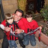 Festa scudetto Milan per i tifosi cattolicesi