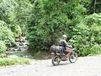 Mit dem Motorrad durch Costa Rica