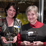 Our newest Honorary Life Members: Liz Steele and Rosemary Noble