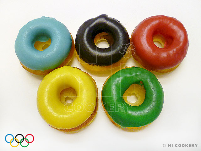 Olympic Donut Rings