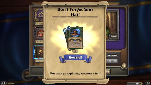 Hearthstone: League of Explorers - Explorer's Hat