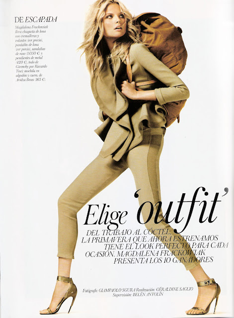 Magdalena Frackowiak -Vogue España-March 2012
