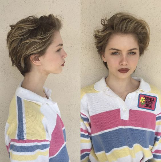 HOW TO STYLE SHORT HAIR FOR WOMEN 3