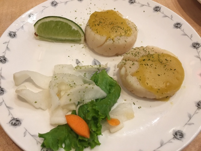 scallops in taipei taiwan