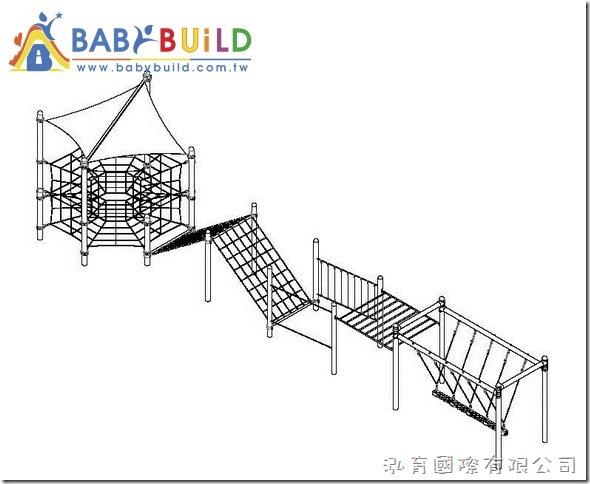 BabyBuild 彈跳攀爬組合遊具