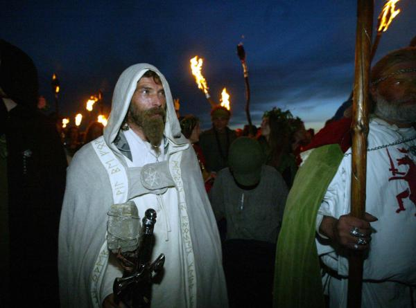Druids Night, Celtic And Druids