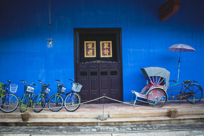Cheong Fatt Tze - The 18th Blue Mansion, Penang Island, Malaysia | Lavender & Twill