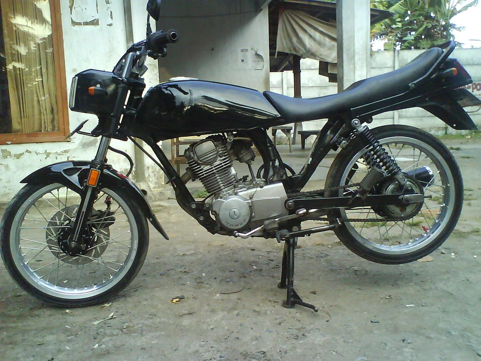 Download Koleksi Modifikasi Motor Trail Gl 125 Terupdate Velgy Motor