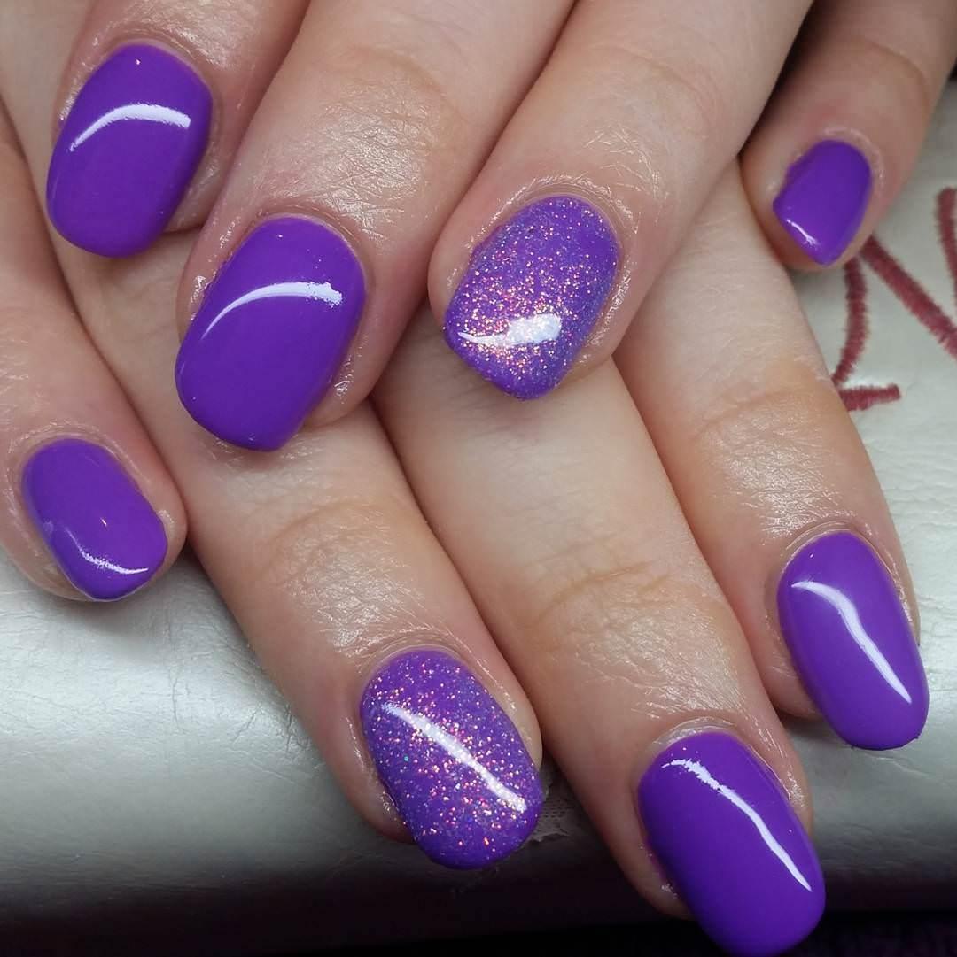 Trendy Purple Nail Art Designs: Trendy Purple Nail Art Designs 2017