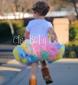 Chic Baby Rose 澎澎裙 澎裙 tutu 蓬蓬裙 baby 嬰兒