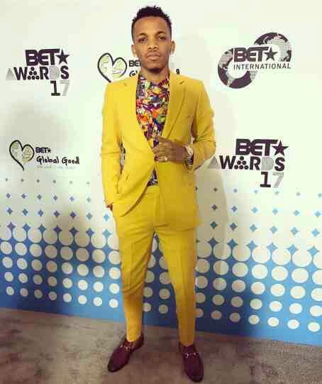 Tekno fashion to BET award