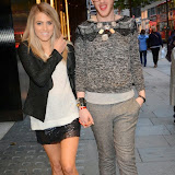 WWW.ENTSIMAGES.COM -  Olivia Cox and Lewis Duncan Weedon   arriving   at     Charity catwalk show at Wear it for Autism - Millennium Hotel London Knightsbridge, London October 6th 2014Charity fashion show to celebrate families and individuals affected by autism.                                                 Photo Mobis Photos/OIC 0203 174 1069