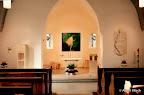 Erlach, Filialkirche. Neugestaltung des Altarraumes und des Ortes der Marienverehrung, 2001