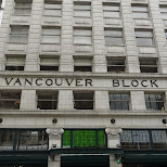 Vancouver Block in Vancouver, British Columbia, Canada
