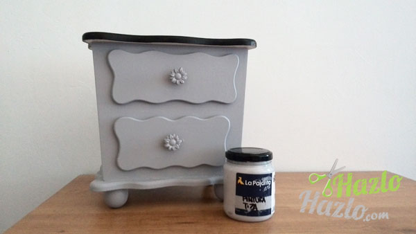 Decorar un mueble con chalk paint