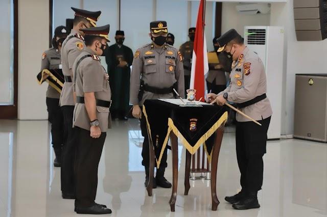 Pimpin Sertijab, Kapolda Riau : Jaga Soliditas Internal Dan Tingkatkan Kerjasama Stakeholder