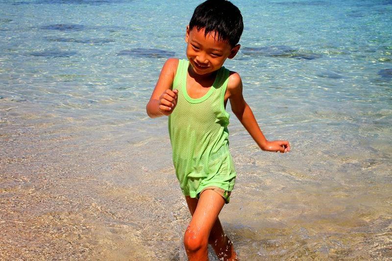 Happy in the Sea