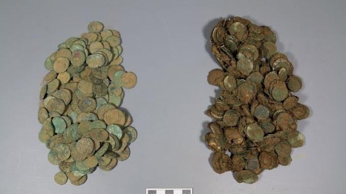 14.000 MOEDAS ROMANAS - Desvendada fraude arqueológica.