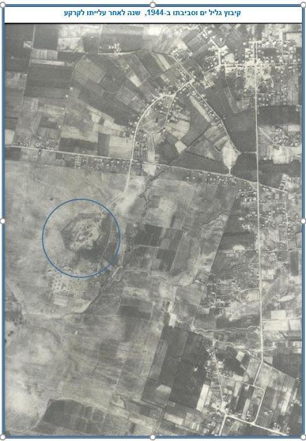 מודיעין בשטחים הפתוחים ובמרחב הבנוי בין נחל הירקון וחוף הים ובין גליל ים TG-85