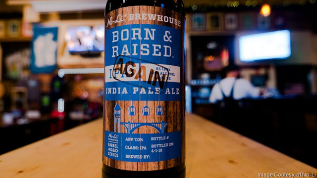 No-Li Brewhouse Releasing Born & Raised Again Barrel-Aged IPA