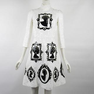 Dolce & Gabbana NEW Cameo Dress
