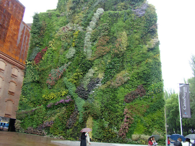 Mur Végétal, Caixa Forum, Madrid, Patrick Blanc, elisaorigami, travel, blogger, voyages, lifestyle