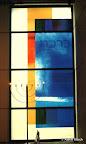 "Bamberg, Synagoge Fenster ""Segen"" 2005"