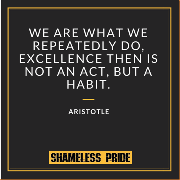 aristotle-repeatedly do