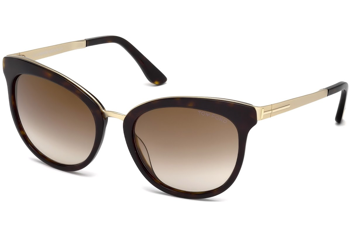 853befd7783e15 Acquistare Occhiali da sole Tom Ford Emma FT0461 C56 52G (dark havana    brown mirror)   opti.fashion