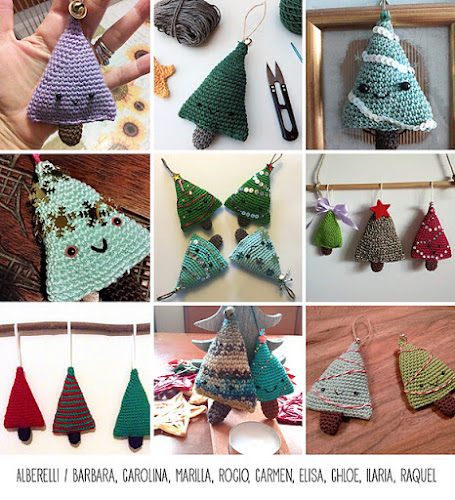 Not 2 late to craft: Compte enrera per Nadal / Christmas countdown -amigurumi tree