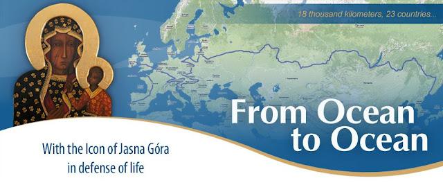 De Océano a Océano. Peregrinación de la Virgen de Czestochowa