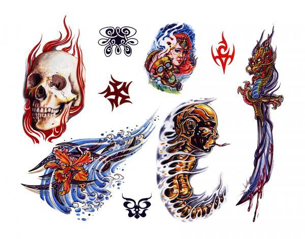 Design Of Magical Tattoo 12, Fantasy Tattoo Designs