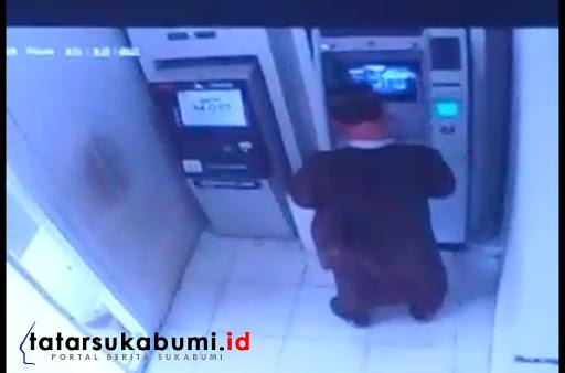 Pembobol ATM di Sukabumi Berkeliaran, 2 Nasabah Warga Warungkiara Saldonya Raib
