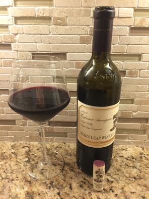 Sassy Wine Belly - Stag's Leap S.L.V. Cabernet Sauvignon 2013