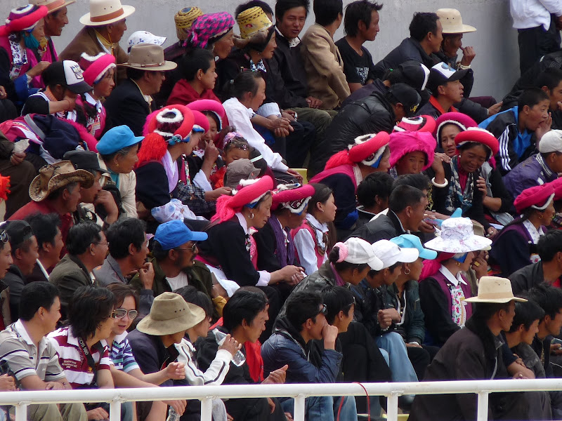 Chine. Yunnan.Shangri la Course hippique annuelle - P1250710.JPG