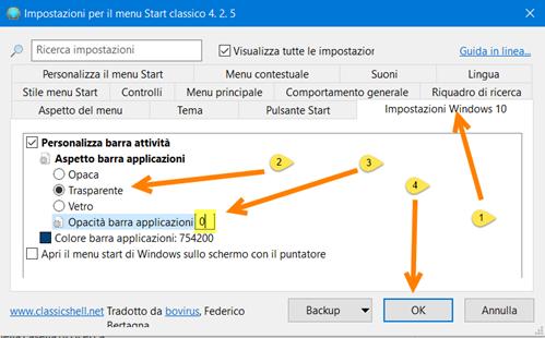 opzioni-menu-start