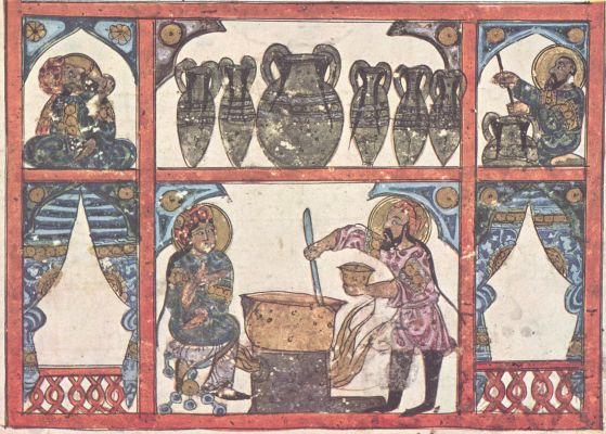 Production Of Pharmaceuticals In An Islamic Apothecary Manuscript 1224, Alchemical Apparatus