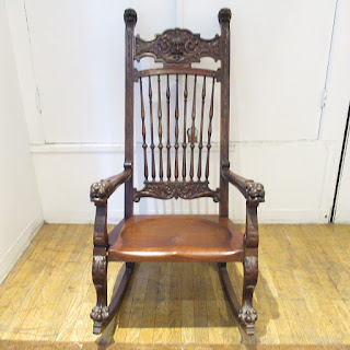 Hand Carved Rocking Chair