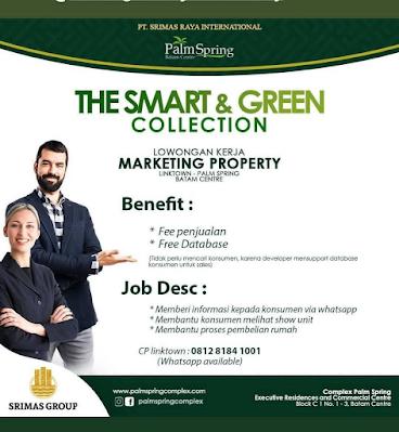 PT Srimas Raya International Membuka Lowongan Marketing Property