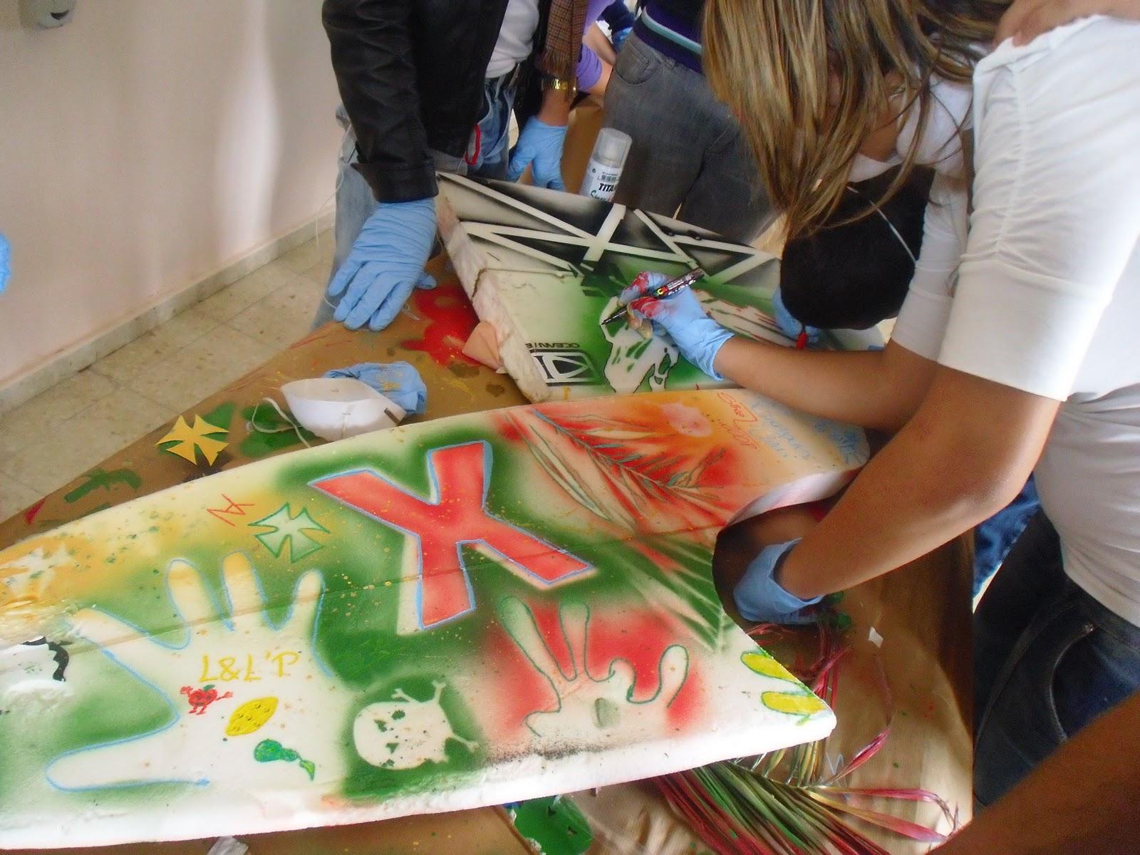 El surf otra forma de conocer tu entorno taller de - Dibujos para tablas de surf ...