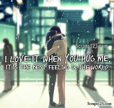 A Hug is Worth Thousand Words  Image - 1