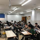 2018-02-02 Concentració i bona feina per part dels alumn@s de Màrqueting i Publicitat