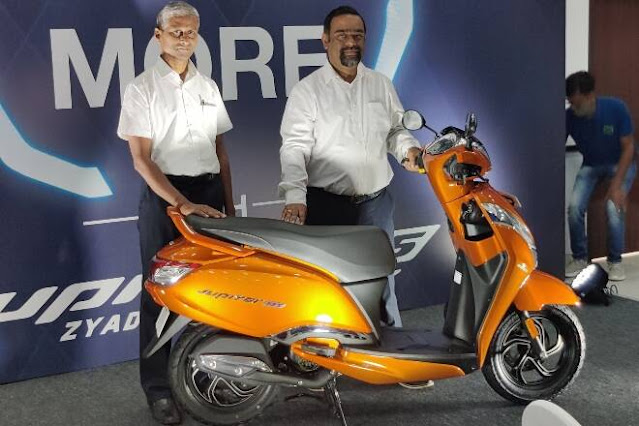 TVS Jupiter 125 Features, Mileage, Price and other details